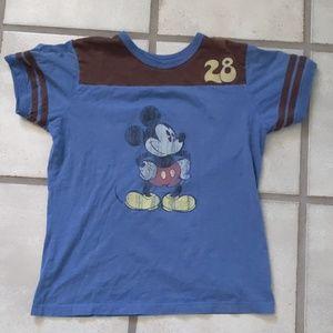 Walt Disney World Mickey football jersey t-shirt